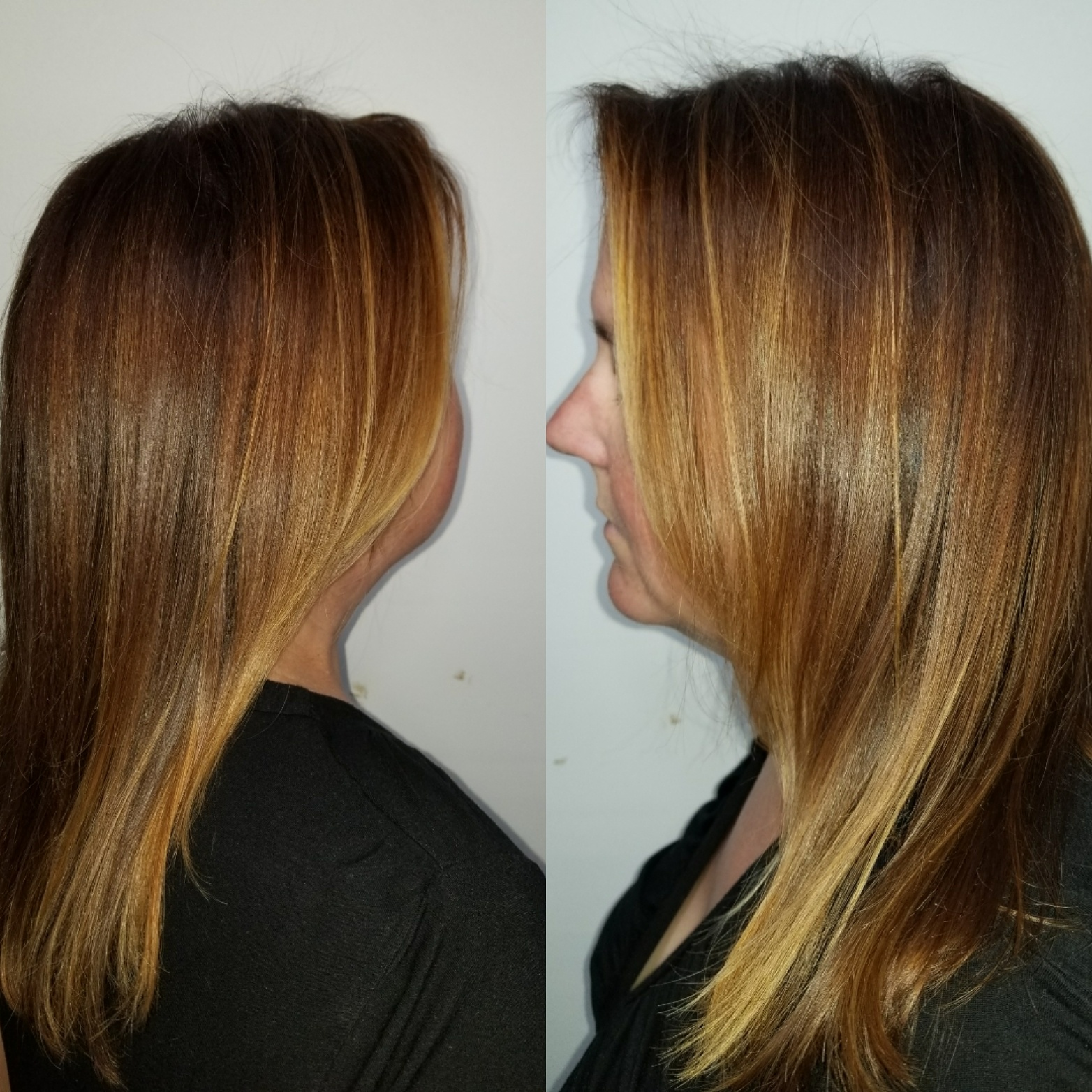 Red Base with Copper Highlights