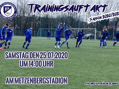 Trainingsauftakt 25.07.2020