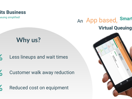 How does virtual queuing benefit customers?