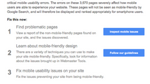 Google Mobile Usability Warnings - Is your SharePoint site mobile-friendly?