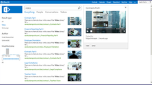 SharePoint video solutions for corporates