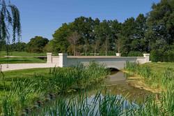 Ashlar stone bridge