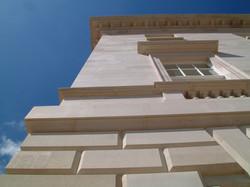 Ashlar block facing