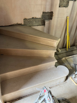 Supply and fix stone staircase