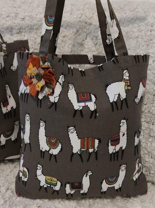 Handmade locally - Alpaca tote bags