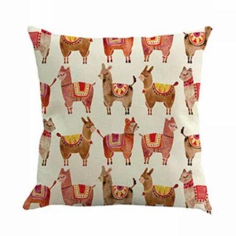 "Alpaca cushion ""mixed"""
