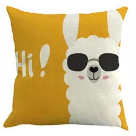 """Alpaca cushion - """"Cool"""""""