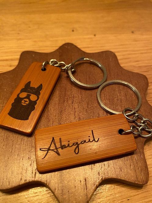 Alpaca keyrings - Personalised