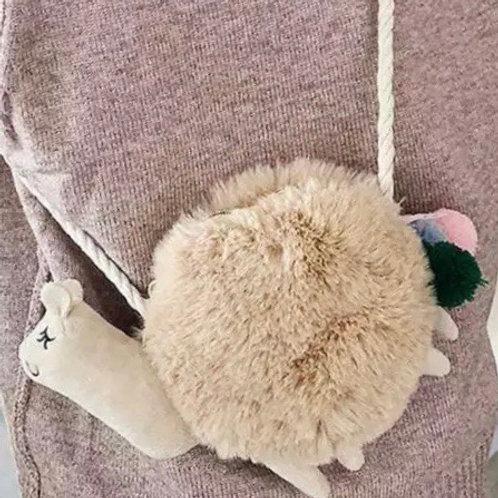 Alpaca shoulder bag