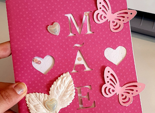 Cartão Dia das Mães By Viviane Giovani