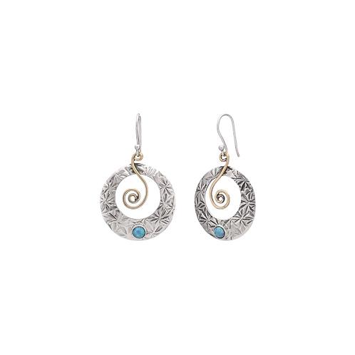 Boho Opal Earrings