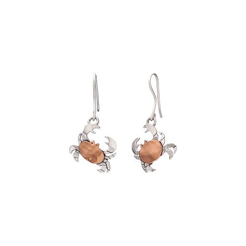 Crab Dropped Earrings