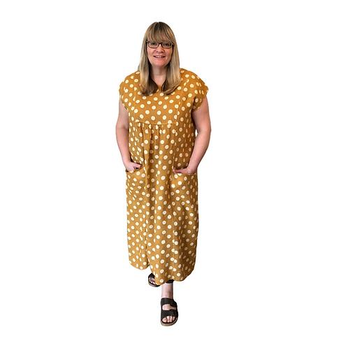 Spot Long Dress