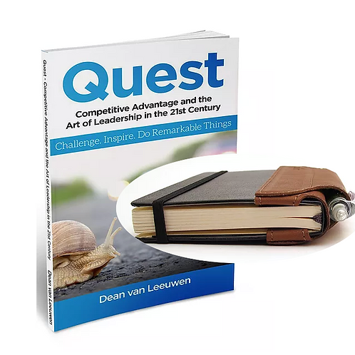 Quest Book, pen and notebook pack