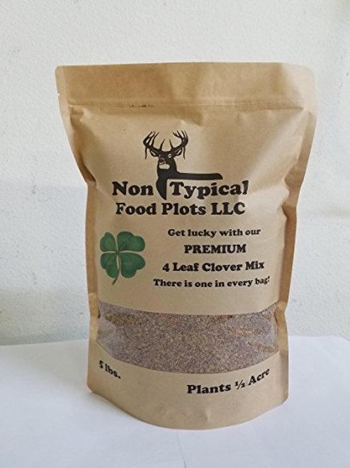 4 Leaf Clover Food Plot Seed - 5 lbs