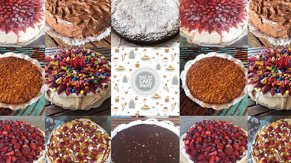 TAKE MY CAKE AWAY
