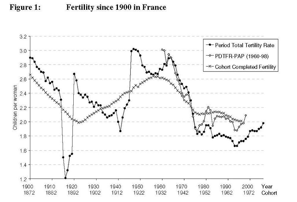 fertilty in France