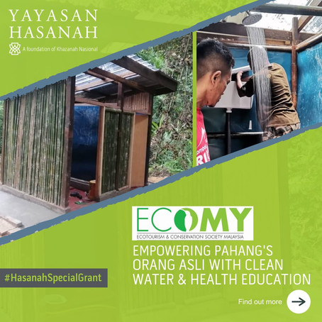Empowering Pahang's Orang Asli with Clean Water and Health Education