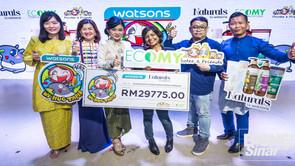 BisnesSinar: WATSONS SUMBANG RM29,775 KEPADA ECOMY