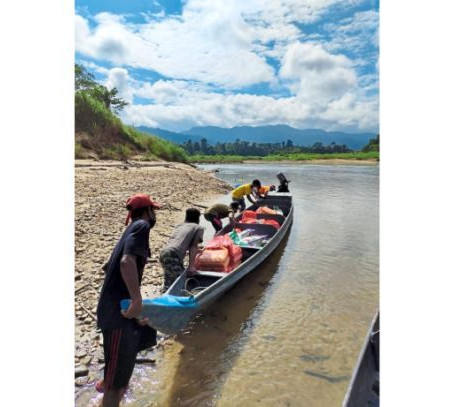 Eight remote villages get essential supplies
