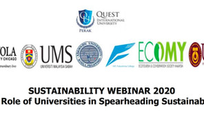Sustainability Webinar 2020 - The Role of Universities in Spearheading Sustainability
