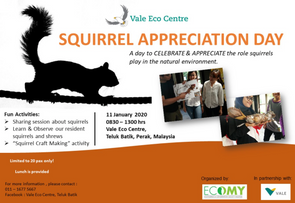 Squirrel Appreciation Day 2020
