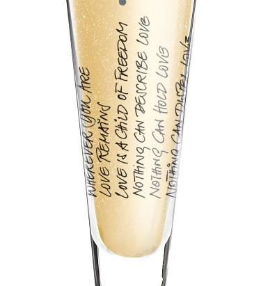 """""""YOU & ME"""" Champagnerglas, Ritzenhoff"""