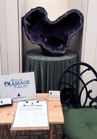 Massage for Events, Trade Shows & Parties