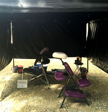 Production Massage for Stunt People, Camera Crew