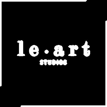 le • art logo