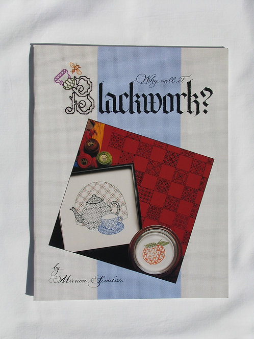 Why Call It Blackwork?