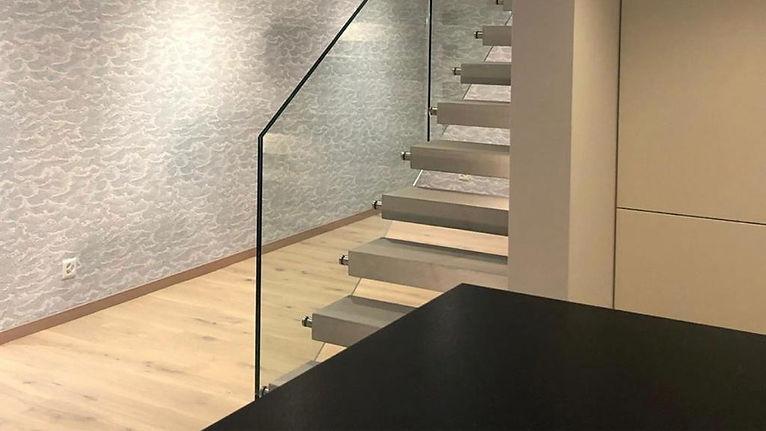 Réalisation escaliers et cuisine Atelier La Dolce Vita