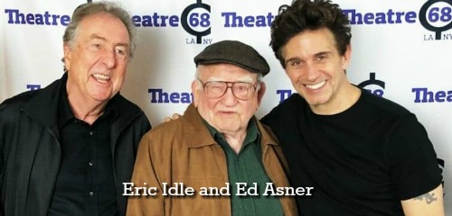 Eric Idle and Ed Asner