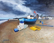 Before the storm, Aldeburgh