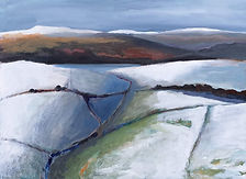 Catcleugh Reservoir and the Cheviots