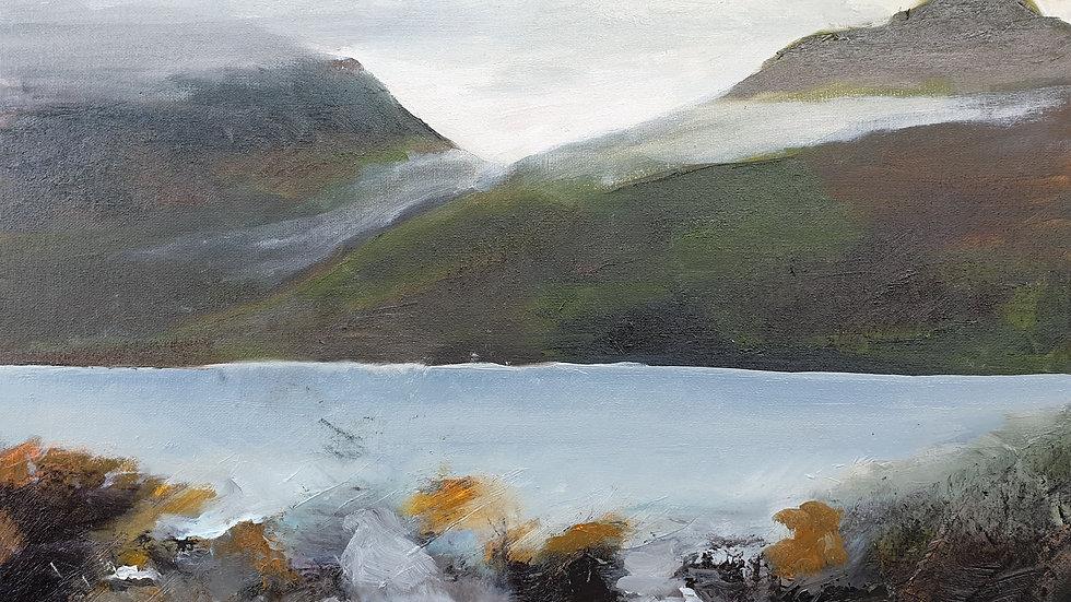 Loch Long, looking up to Glen Coe