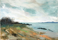 The Firth of Clyde from Lunderston Beach II