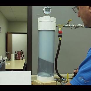 Testing Foam PSI