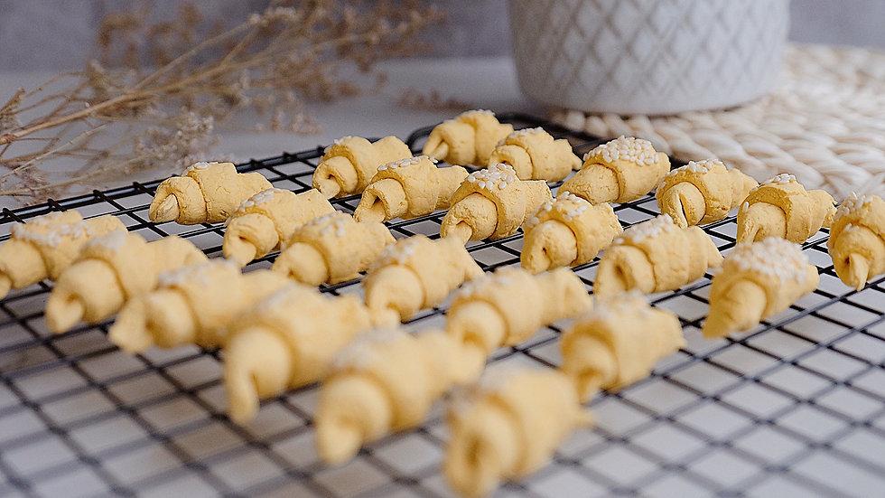 Prawn and Squash Croissants