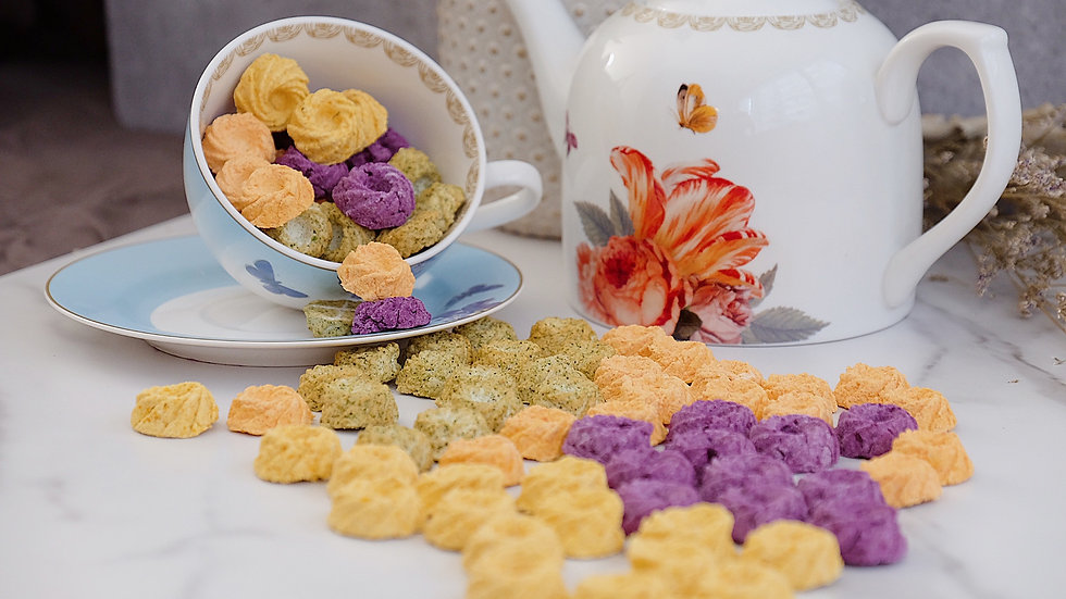 Rainbow Fish Biscuits