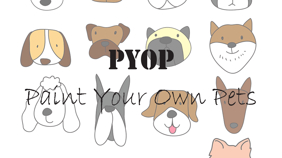 PYOP - Paint Your Own Pets