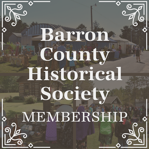 Barron County Historical Society Membership