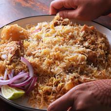 Simple Kolkata Style Chicken Biryani