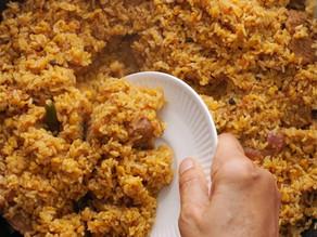 One Pot Vuna Mangser Khichuri Recipe