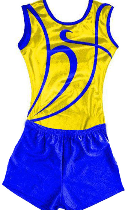 H&F Boys Club Leotard & Shorts