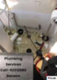 Clearing Drain with machine