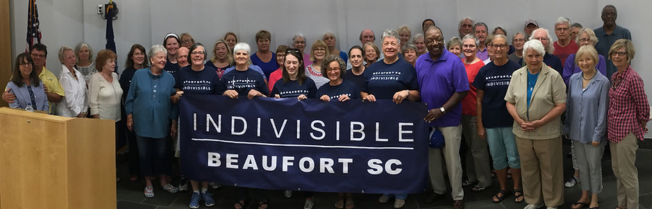 Members of Indivisible Beaufort SC