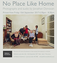 No Place Like Home photography exhibition by Jonathan Donovan