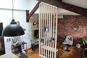 renovation interieur style loft dans une  maison par l'architecte interieur Alexis Morand à Annecy