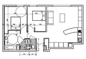 plan d'agencement d'intérieurs Annecy 74